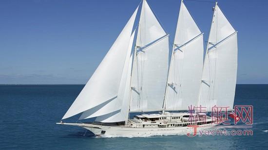 Top 10 | 全球能租到的最贵游艇 - 超级游艇租赁Athena三桅帆船