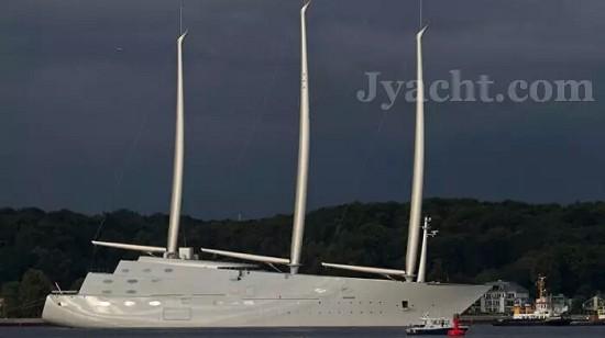 帆船Top 15 A yacht