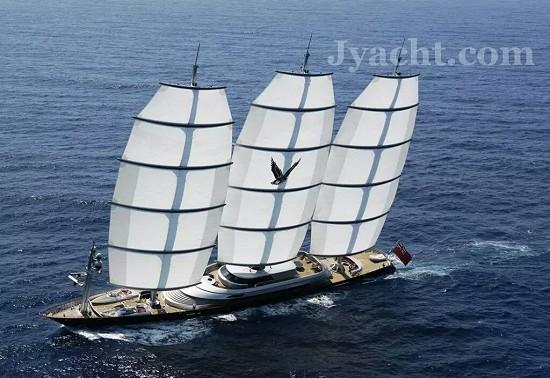 帆船Top 15 Maltese Falcon yacht