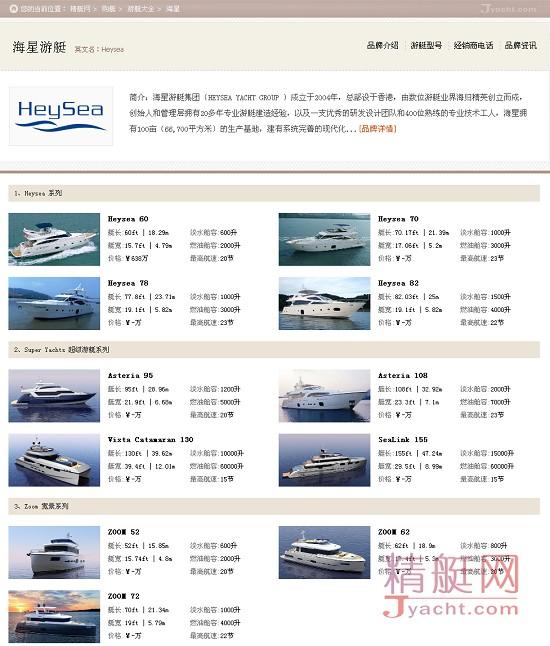 中国海星(Heysea)数据揭示最受华人关注的10大游艇品牌 | 6月
