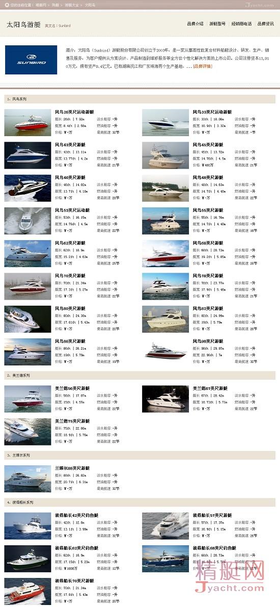 太阳鸟(Sunbird)数据揭示最受华人关注的10大游艇品牌 | 6月