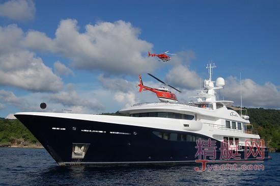 Amels(遨慕世)超级游艇 LA FAMILIA 号将在新加坡游艇展亮相