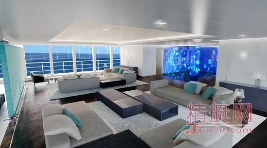 难以想象的设计:100米探险型游艇概念图