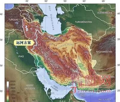 伊朗也要建一条改变世界格局的大运河!