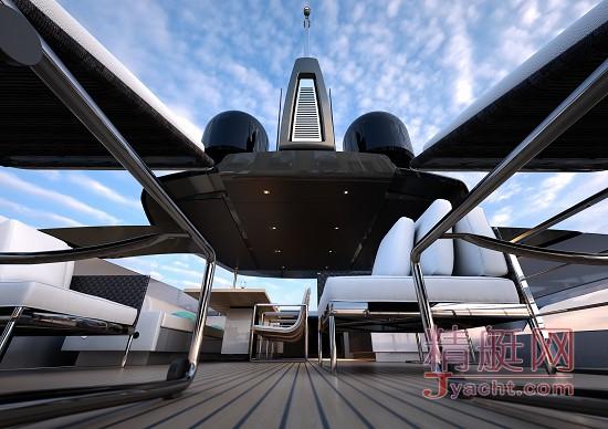 Riva 100'Corsaro(海盗):首艘已售给亚洲客户 - Riva(丽娃)飞桥游艇全新时代