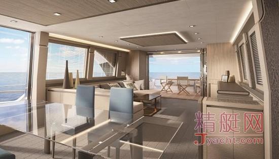全新蒙地卡罗游艇 MCY 80: 一艘集卓越表现与优雅线条于一身的精致游艇