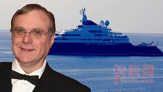 亿万富翁保罗·艾伦又在他的豪华游艇开超棒派对了
