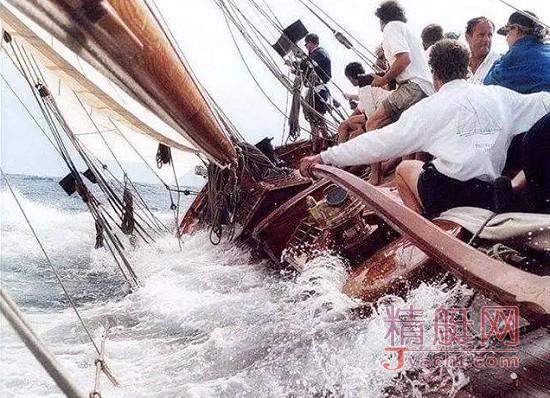帆船课堂--倾覆扶正