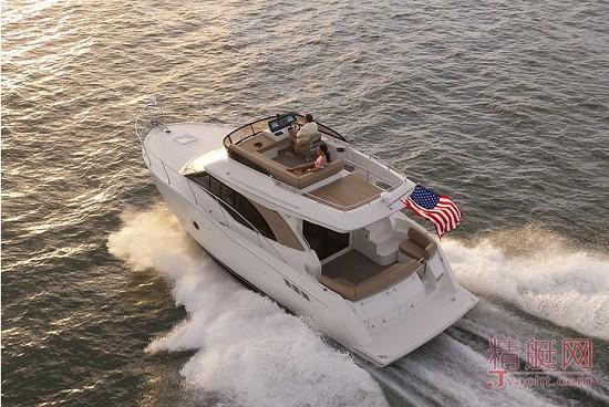 美国产的Carver(卡福) C34飞桥游艇游艇yacht