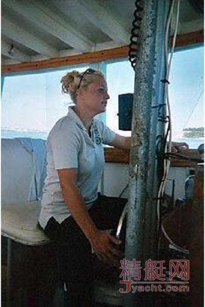 纽约最年轻女船长为什么能让男人闭嘴