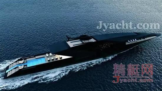Timur Bozca超级游艇Black Swan