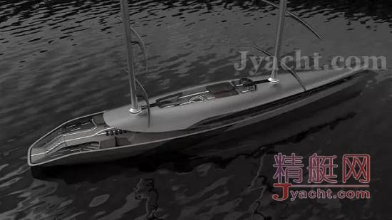 Timur Bozca超级游艇55米双桅帆船Cauta