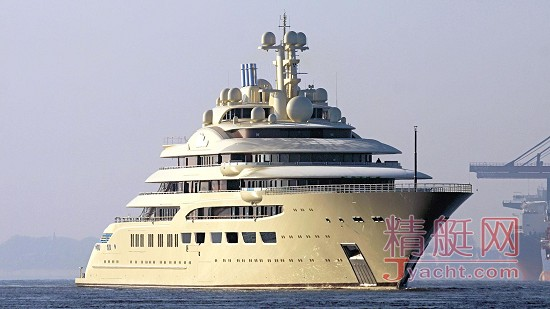揭秘 | 全球第四大游艇156米Dilbar建造过程