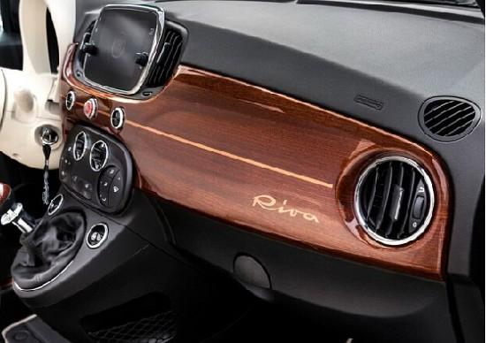 菲亚特500 Riva特别版官图 游艇元素