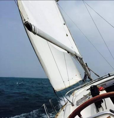 当船身在剧烈摇晃,我用最后一格电,记录下此刻所想