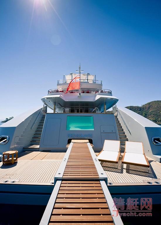 瞅瞅超级游艇的屁股能有多翘Superyacht 72.5米Axioma土耳其Dunya Yachts