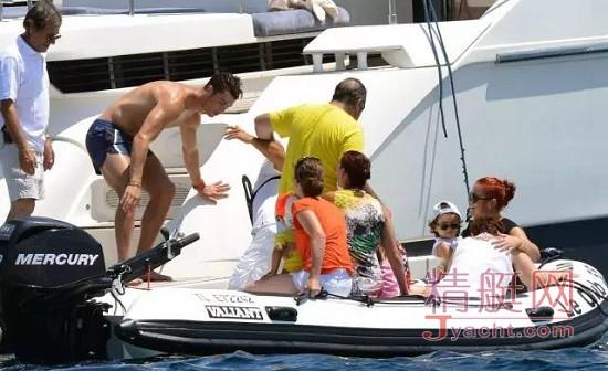 C罗(Cristiano Ronaldo)游艇生活(yacht life)