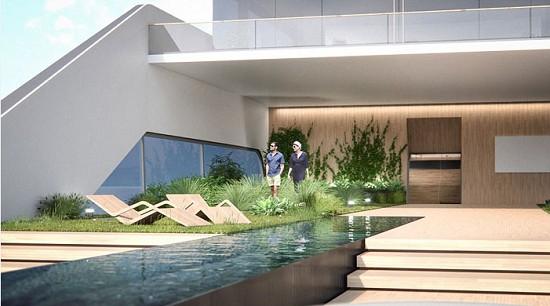 无边泳池配上私人花园第一艘真正意义上的水上宫殿