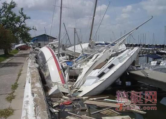 台风中的船艇 你比想象中脆弱