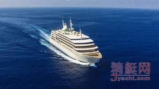 """159米"""" Fulk Al Salamah""""超级游艇意大利T. Mariotti船厂"""