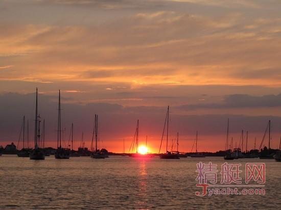 对游艇的爱,在日落黄昏后 Ⅱ