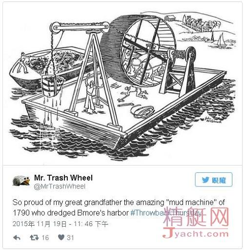 垃圾轮先生(Mr. Trash Wheel)港湾神器:两年零耗能拦截超420吨垃圾