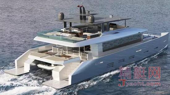 中国造超级游艇海外亮剑 | 最新艇型 东海船艇(Kingship)双体KingCat 85