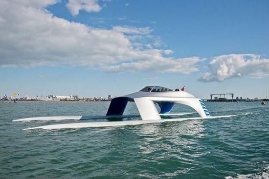 Glider:科幻电影里走出来的运动型游艇