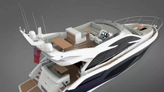 独家:全新Sunseeker Manhattan 52内饰图