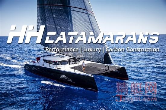 位于福建泉州南安的HUDSON YACHT此次携双体船品牌HH CATAMARANS旗下艇型HH66及JC 48参展