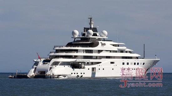 Khadem Al Qubaisi涉嫌挪用公款购买世界第5大游艇147米Topaz 被逮捕