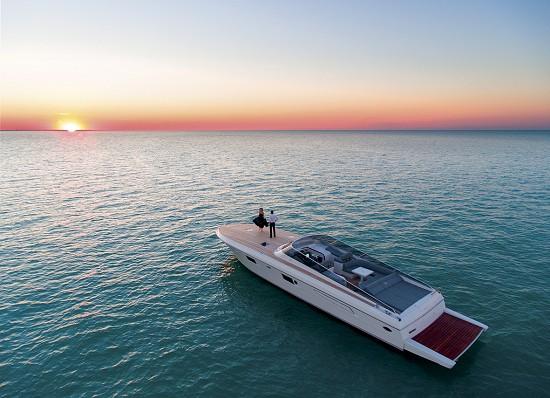 意大利开放式游艇意达马 62