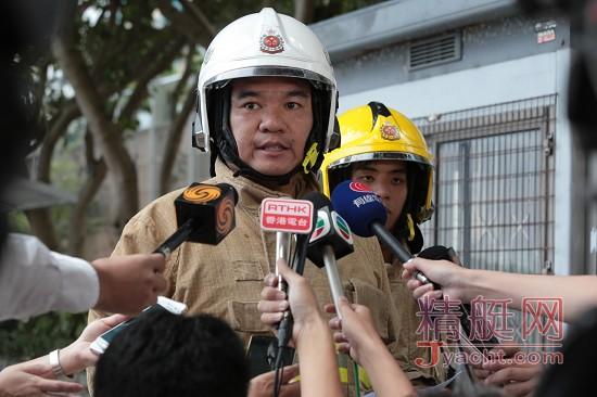 突发 | 香港筲箕湾18米游艇起火焚毁