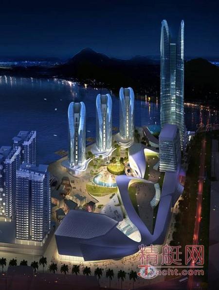鸿洲国际游艇会所在地――三亚港