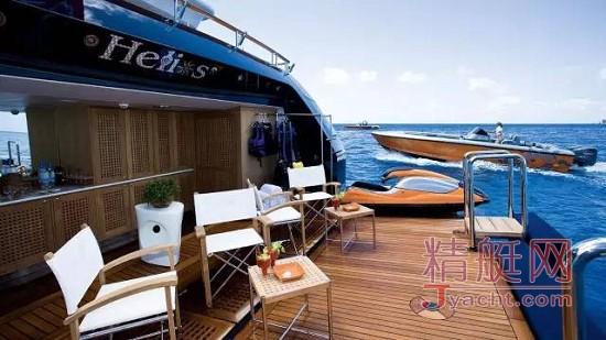 超级游艇船艉海滩俱乐部的10种风格