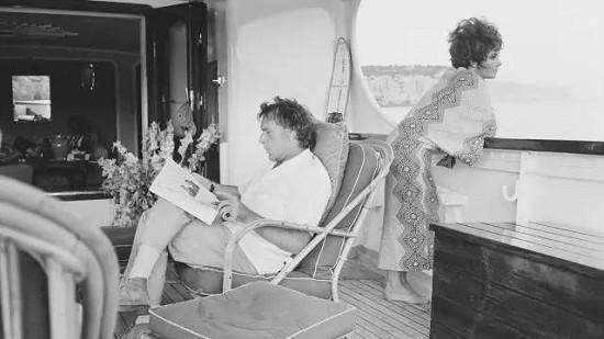 好莱坞巨星经典老照片 ・ 游艇生活