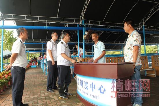 """三亚海事局全力投入防抗台风""""莎莉嘉""""工作"""