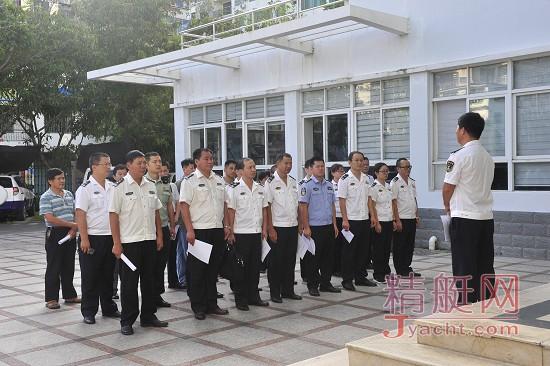三亚组织海上旅游安全生产专项检查