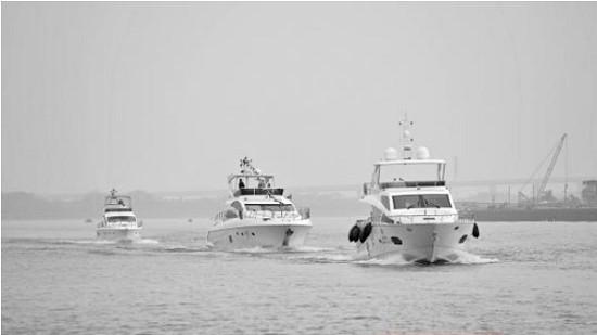 乘游艇神湾出发 1个钟可抵澳门