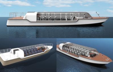 全视界最美玻璃船,带你探索穿紫河畔的德国小镇――DND道恩游艇设计