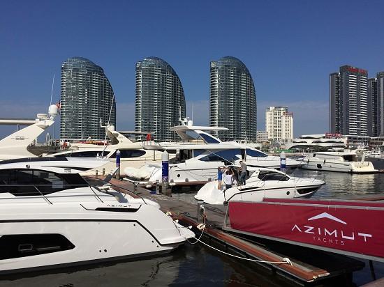 2016海天盛筵阿兹慕Azimut Yachts明确表示绝不走法拉帝Ferretti、圣汐Sunseeker的路