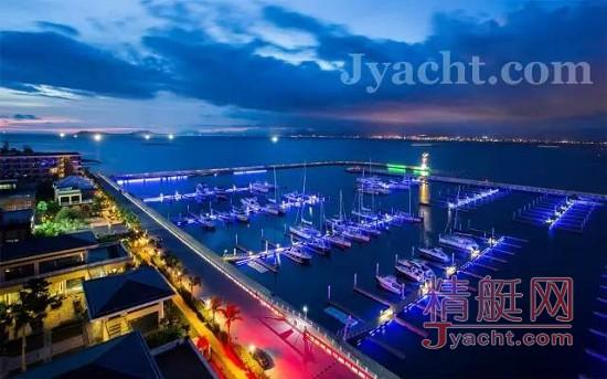 2011-12及2014-15连续两届沃尔沃环球帆船赛 在三亚半山半岛帆船港顺利举办
