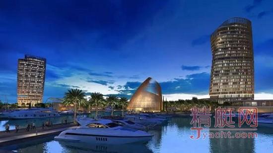 震撼!全球三大新建游艇港码头Ayia Napa码头