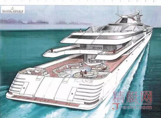 川普两次建128米超艇 都因破产被迫中断(Donald Trump Yacht)