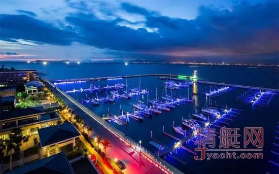 半山半岛帆船港游艇码头