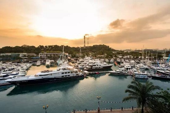 进军亚洲 游艇大牌为何都选新加坡游艇展(Singapore Yacht Show)