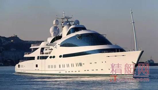 爱或恨?回头率100%的7艘豪华游艇superyacht Yas