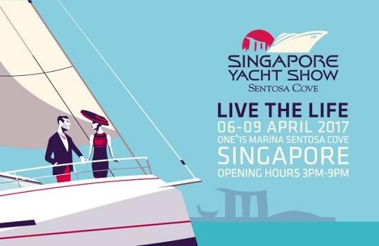 2017年新加坡游艇展(the Singapore Yacht Show)今日开幕
