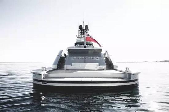 澳大利亚游艇制造商Silver Yachts打造的超级游艇Silver Fast长达77米