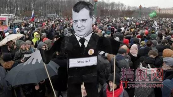 回应反腐游行 俄将提高游艇等小型船只税